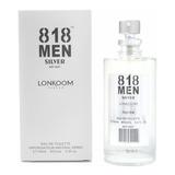 Perfume 818 Men Lonkoom - 100ml Insp: 212 Ch - S/ Celofane
