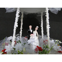 Topo Bolo Casamento Igreja Festa Noiva Vestido Casal Terno