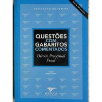 Livro- Questões Com Gabaritos Comentados- Frete Gratis