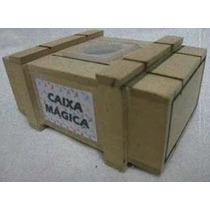 Caixa Mágica - Quebra Cabeça - Madeira Reciclada