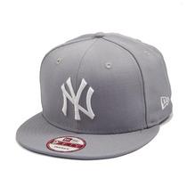 Boné Aba Reta New Era Snapback New York Yankees Cinza - Mlb