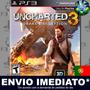 Jogo Uncharted 3 Drakes Deception Ps3 Mídia Digital Portugal