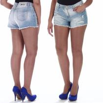 Sawary Short Jeans Feminino Delav Sabrina Sato Pit Bull