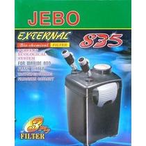 Filtro Canister Jebo 835 220v Com As Mídias Filtrantes