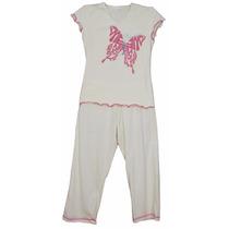 Pijama Feminino Algodão Orgânico Mensageiro Dos Sonhos