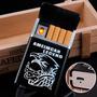 Carteira De Cigarro Isqueiro Elétrico Usb Recarregável