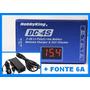 Carregador Digital + Fonte P/ Airsoft Bateria Lipo / Li-ion