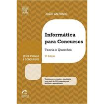 Ebook Informatica Para Concursos - 5 - Joao Antonio Carvalho