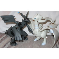 Miniatura Action Figure Boneco Pokémon Reshiram + Zekrom
