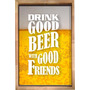 Quadro Caixa Com Moldura Para Guardar Tampa Cerveja 60x40
