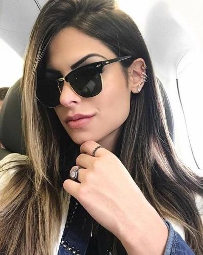 def01fe033ff5 Óculos De Sol Feminino Masculino Redondo Espelhado Barato - R  34 en ...
