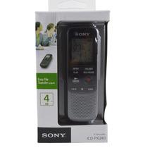 Gravador Voz Sony Digital Px 240 4giga Memória 100% Original