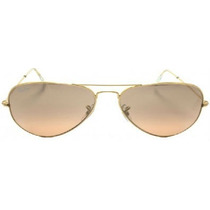 Ray-ban Aviador Dourado Rb3025 Rb3026 Lente Marron Degradê