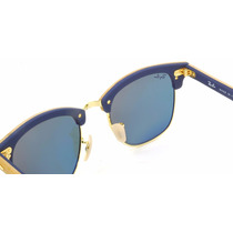 Óculos Sol Ray-ban Clubmaster Wood Madeira 3016 M Camila