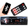 Auto Rádio Som Automotivo Bluetooth Mp3 Player Usb Fm Sd Aux