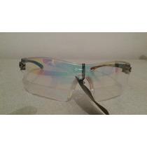 Oculos De Sol Lente Transparente E Armação De Ferro