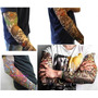 Kit 10 Tattoo Fake Tatuagem Falsa Tatoo Colorida Tribal