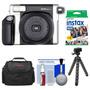 Câmera Instantanea Fuji 300+bolsa+filme+tripe+kit Limpeza