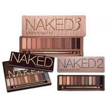 Kit 3 Paletas Urban Decay - Naked 1, Naked 2 E Naked 3