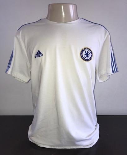 Camisa Chelsea Inglaterra Modelo Passeio adidas Importada. R  39 53966e930ef
