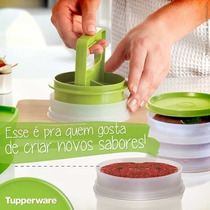 Tupperware Presto Hamburguer 12 Formas+ Modelador+ Prensador