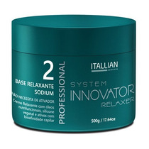 Base Relaxante Sódium Itallian Hairtech Professional