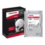 Hd Toshiba P300 1tb  7200rpm  Cache 64 Mb Sata 6 Gb/s P