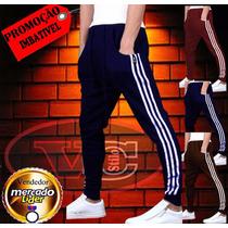Calça Saruel Masculino - Modelo Adida School - Moda Swag