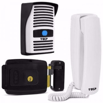 Kit Interfone Residencial Intervox Ecp C/ Fechadura Fx500
