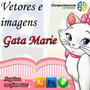 65 Vetores E Imagens Da Gata Marie Para Corel Draw