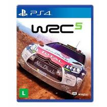 Wrc 5 Ps4 - Jogo Simulador Carro Rally - Midia Fisica