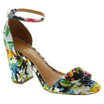 Sandália Textil Floral Aldore Vizzano 6268100 - Dinca