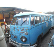 Kombi Vw Van Corujinha 1973 P/ Restaurar Funciona Docks Ok