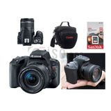 Câmera Canon Sl3 +18-55mm Is Stm 4k +32gb Sdhc Nf-e +brindes