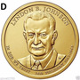 Estados Unidos 1 Moeda 1 Dólar Americano Lyndon Johnson  Nov