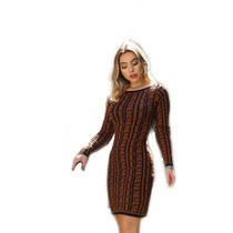412e47a400ff Busca vestido de la manga longa com os melhores preços do Brasil ...