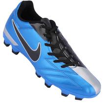 Chuteira Nike Total 90 Shoot Iv Fg Azul Semi Profissional
