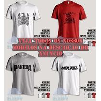 Camiseta Thrash Sadus, Sodom, Suicidal Tendencies