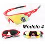 Óculos De Sol Ciclista Esporte Ciclismo Visão Noturna