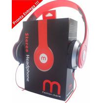 Fone D Ouvido Headphone Mex Tipo Neymar Beats Mp3 Celular Pc