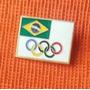 Pin Raríssimo Brasil Nas Olimpíadas De Moscou 1980