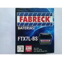 Bateria Fabreck Ftx7lbs Cg Titan 150/ Twister/ Falcon