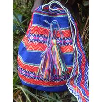 Bolsa Peruana Saco Tipo Wayuu Colombianas !