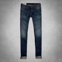 Calça A&f Super Skinny Jeans Original