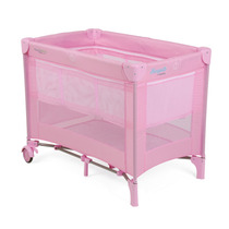 Mini Berço Burigotto Desmontável Rosa/pink Sem Juros