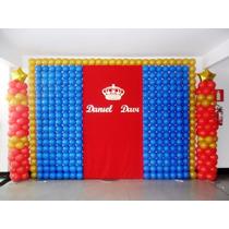 Tela Magica Pds Painel De Balão Bexigas Bola De Festas 4 Kit