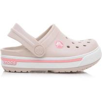 Sandalia Crocs Crocband 2.5 Infantil 12837 1as Original + Nf
