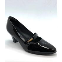 6bc0aebf43 Sapatos Sociais e Mocassins Sapatos Sociais Feminino Piccadilly com ...