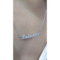 Justin Bieber Sorry - Colar Belieber