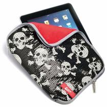 Capa Case Notebook 14 Polegadas Com Ziper Caveira